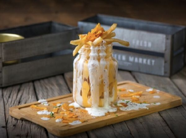 Fries In A Maison Jar... Why