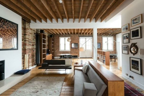 Loft In A Converted Timber Warehouse In London