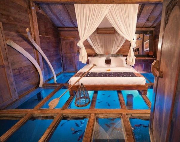 Room With Glass Floor