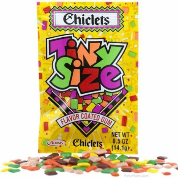 Who Remembers Tiny Sized Chiclets?