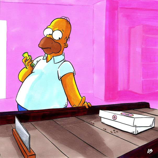 Homer And Donuts