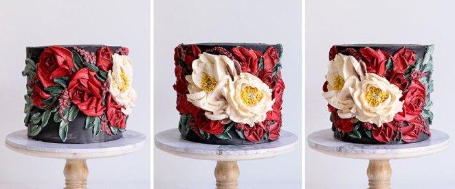 Vampire Themed Cake