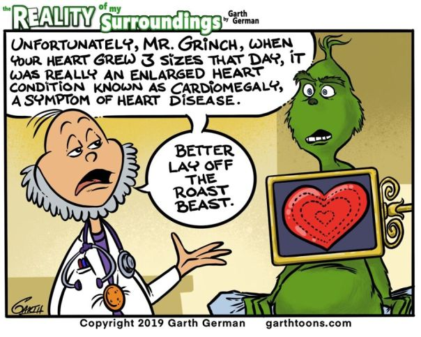 The Grinch Has A Heart Condition