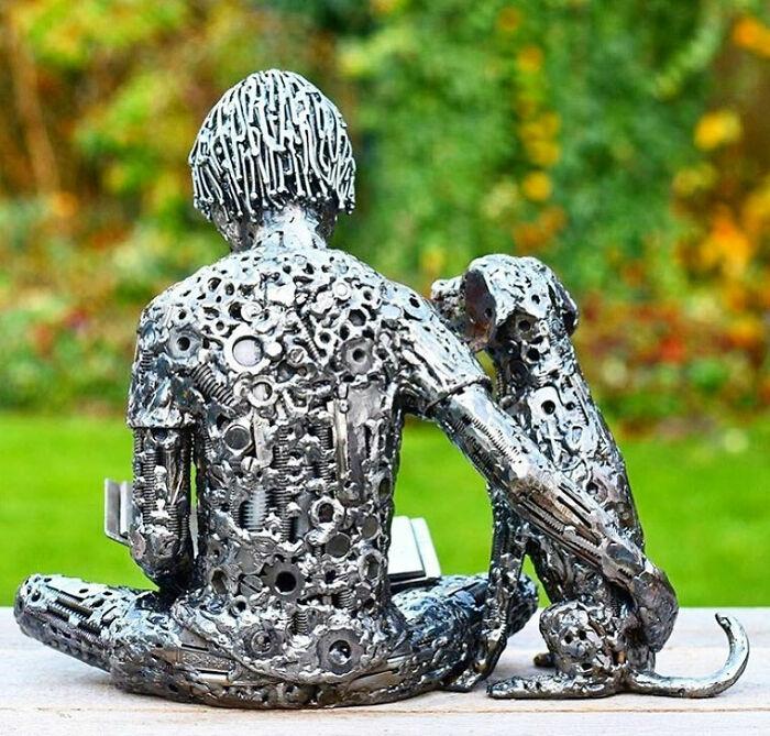 Amerikalı Sanatçı Geri Dönüştürülmüş Malzemeyi Hayata Döndürüyor, İşte İnanılmaz Heykellerinden 30'u