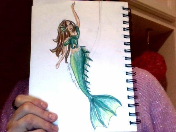 A Green Mermaid