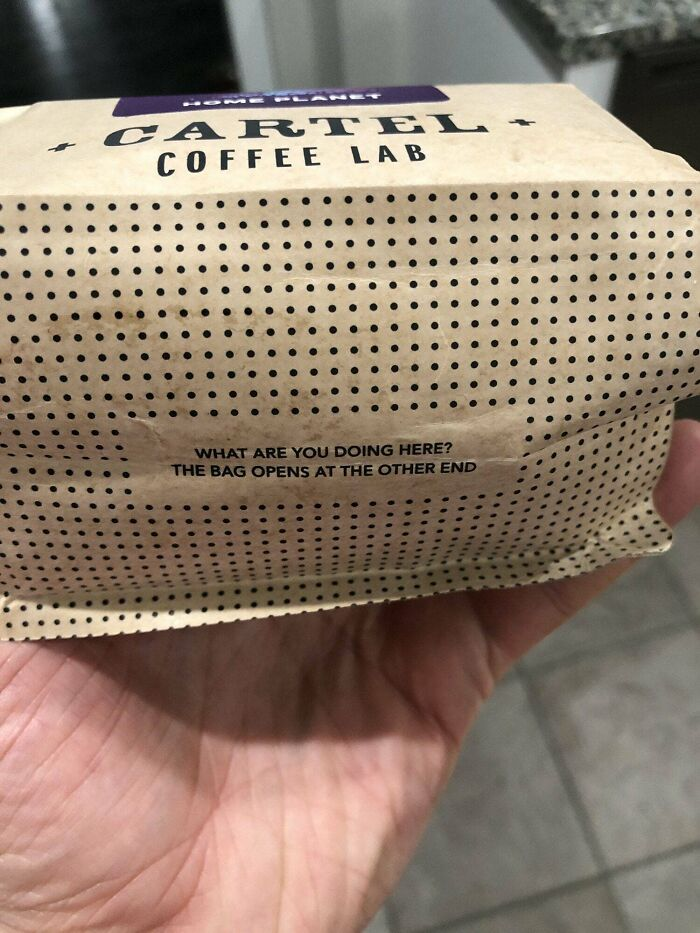 Found In The Bottom Of My Bag Of Coffee