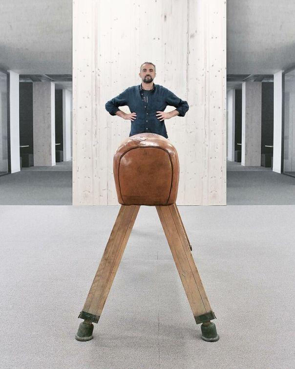 Wooded Leg