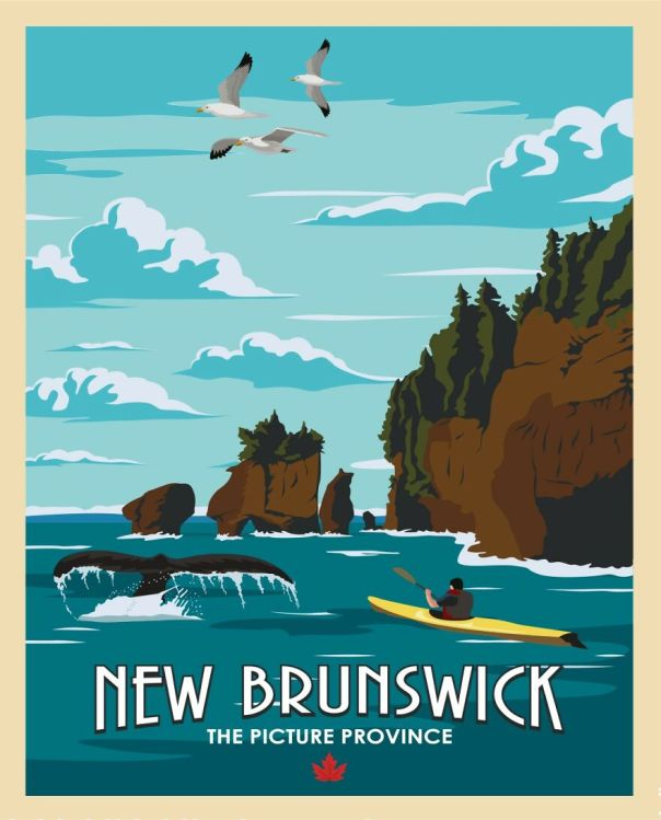 If You're Into Whale Watching And Sea Kayaking , New Brunswick Might Just Be Your Place