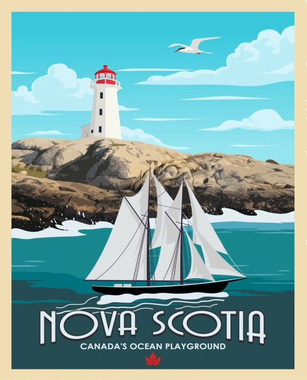 Nova Scotia .. On The Footsteps Of The Atlantic