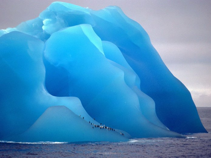 Not A Painting - Just An Iceberg Flipped Upside Down