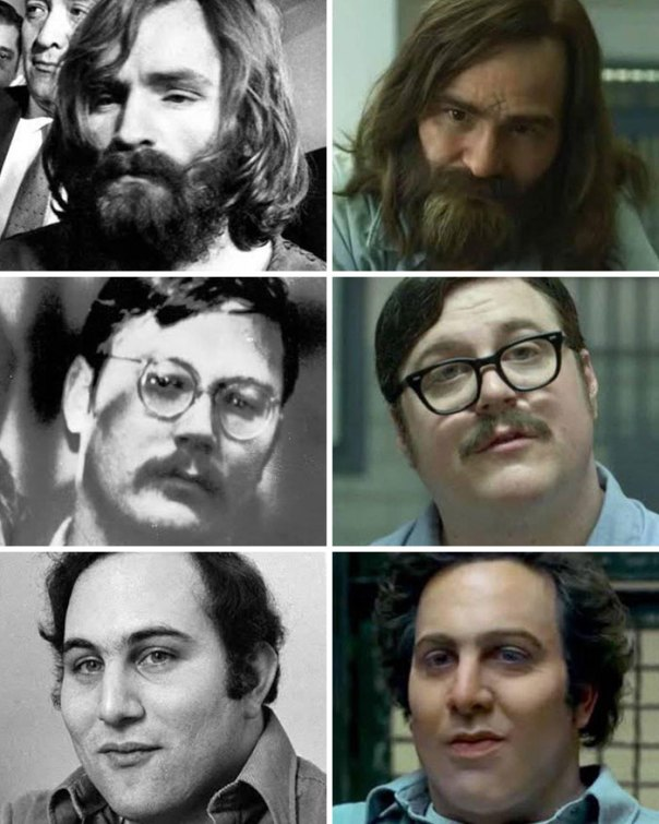 Mindhunter (2017) The Real Killers vs. Actors Who Play Them