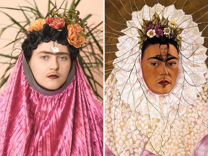 "Frida Kahlo ""Diego On My Mind"" (1943)"