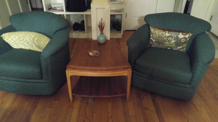 Paid $0.64 For Both These Mid Century Chairs!