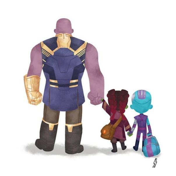 Marvel (Thanos Family)