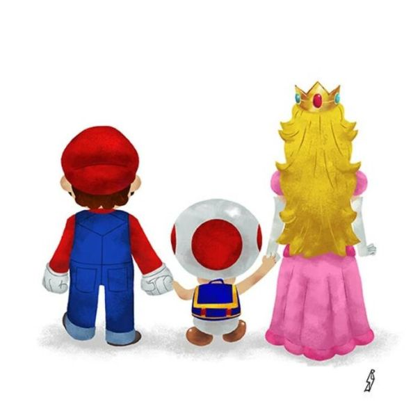 Mario (Mushroom Kingdom Family)