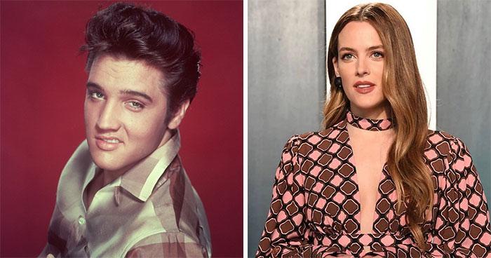 Elvis Presley And Riley Keough