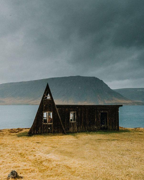 Old Cabin In Westfjords