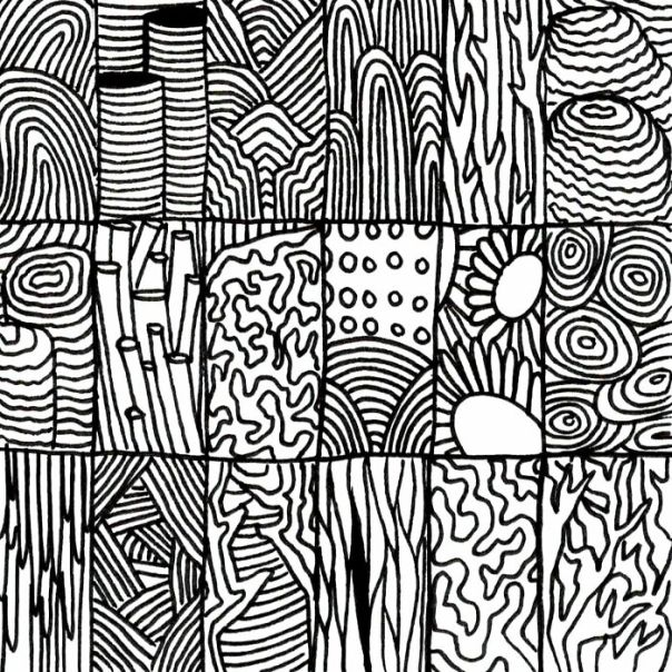 Grid Of Coral