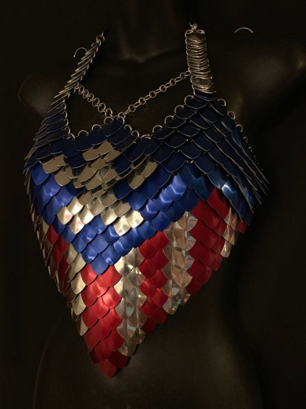 Captain America Inspired Scalemail