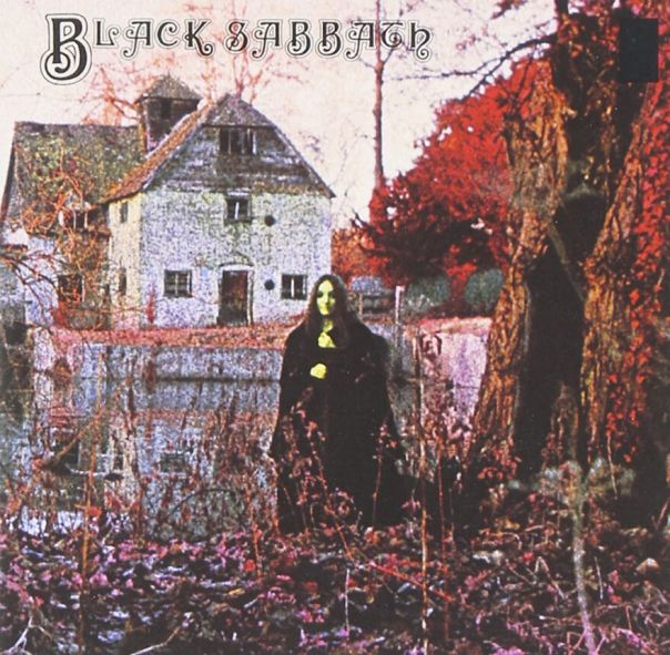 "Black Sabbath Vintage First Pressing Of Debut Album Cover Photo By ""Keef"""