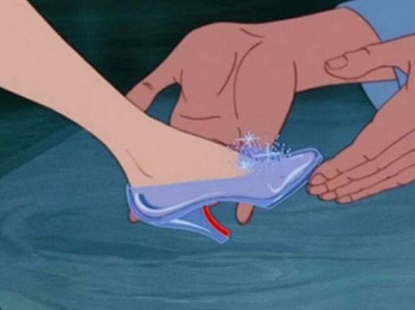 If Cinderella's Glass Slipper Fit Her Foot Perfectly, Then Why Did It Fall Off In The First Place In Cinderella (1950)?