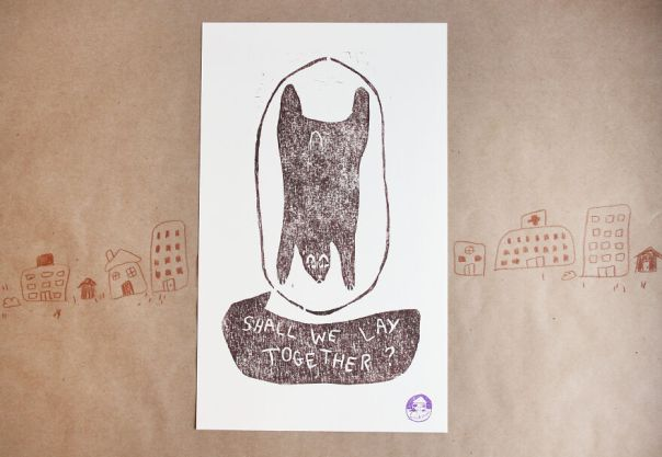 Friendly Neighborhood Bear Print