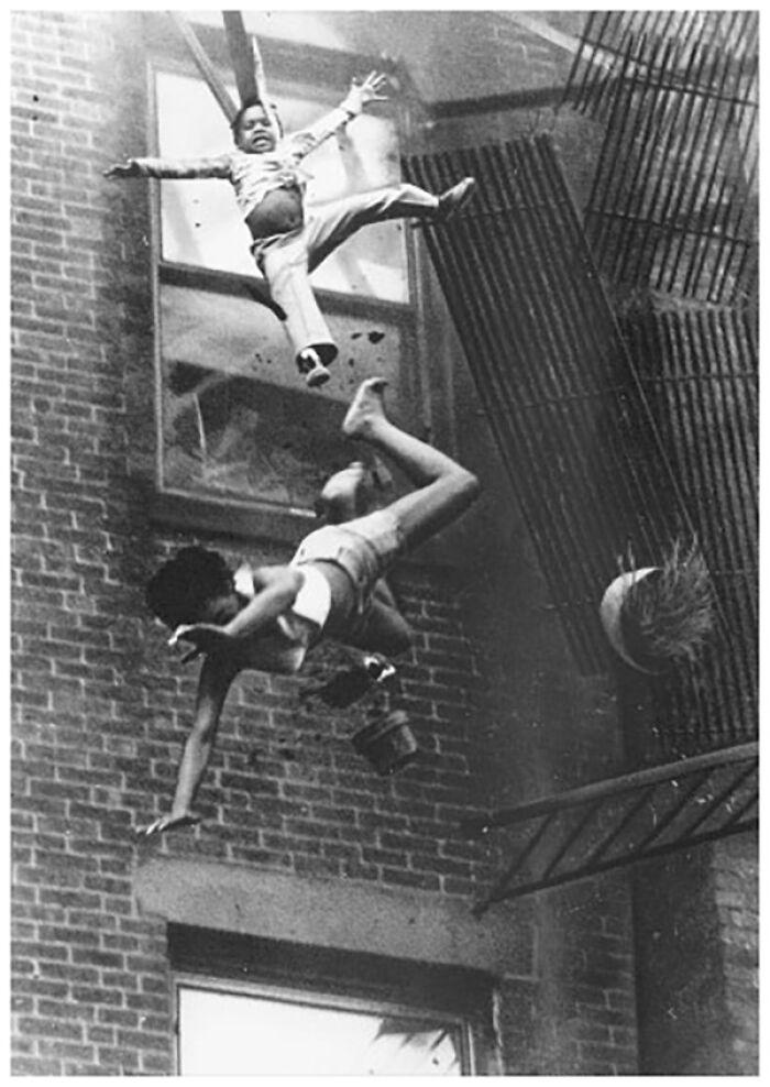"""1976 """"Fire Escape Collapse"""""""