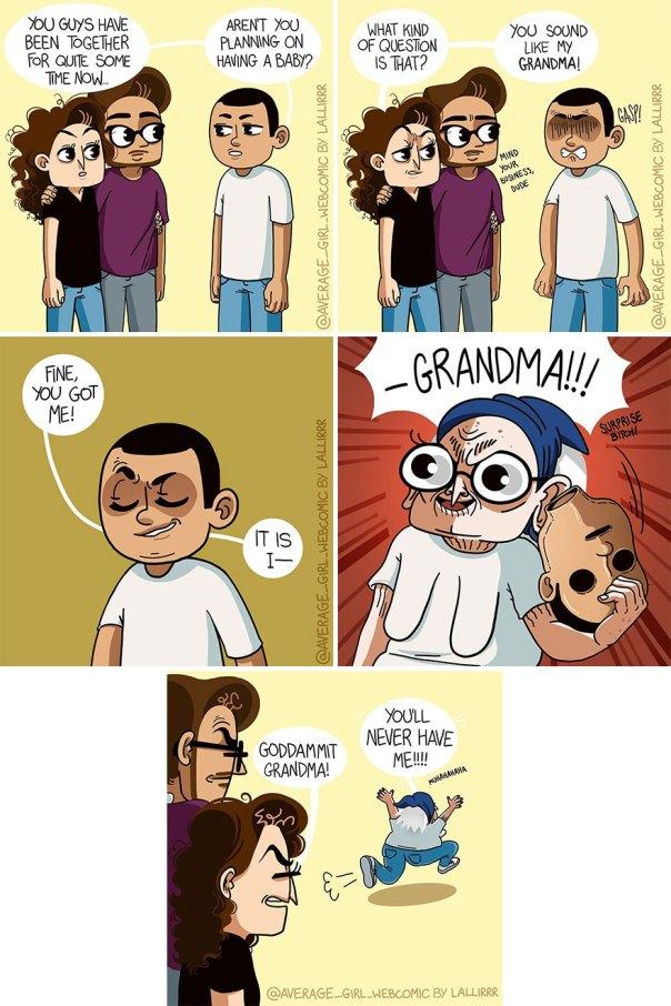 Funny-Slice-Of-Life-Average-Girl-Webcomic