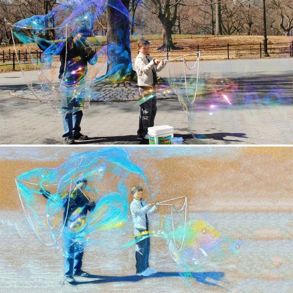 The Bubble Makers At The Central Park