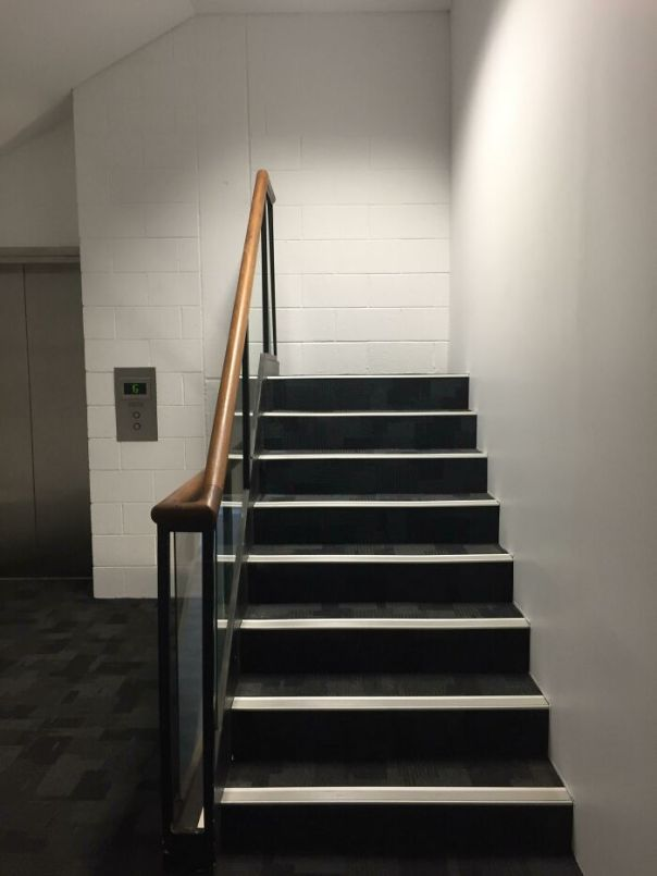 A Staircase At My Uni