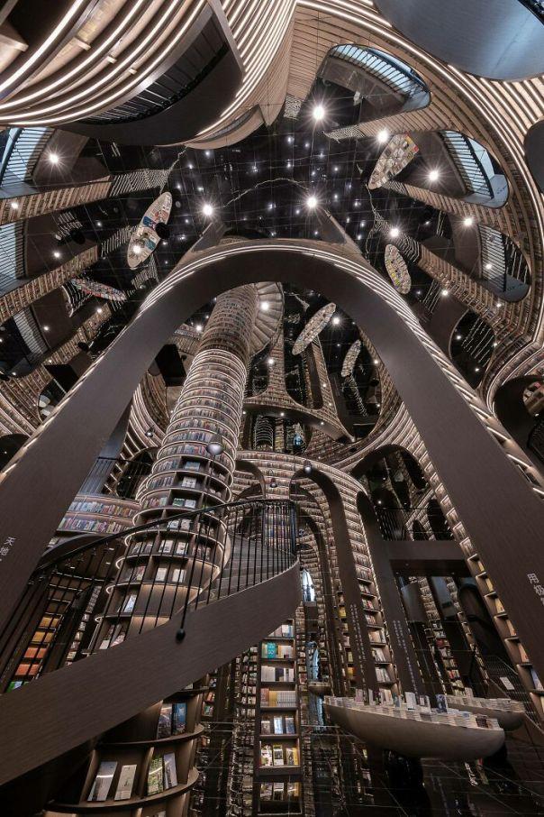 Zhongshuge Bookstore In Chengdu, China