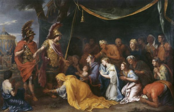 The Queens Of Persia At The Feet Of Alexander/The Tent Of Darius By Le Brun, Charles (1661)