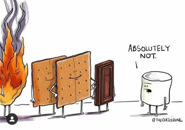 I'm Pretty Sure I Posted This Recently But Today Is #nationalsmoresday So Here It Is Again! - anyone Have Any? I Did Not, Damnit.
