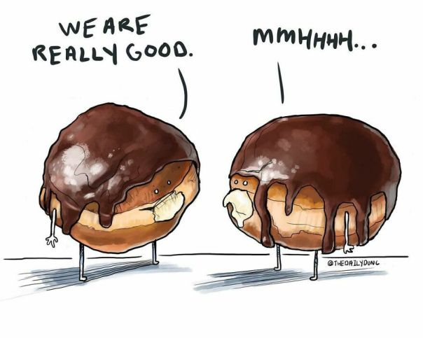 They Really Are. #thedailydunc - today Is Cream Filled Donut Day! Anyone Have One?!