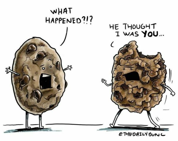 Imposter!! 🍪 #thedailydunc - who Here Has Ever Bitten Into A Cookie Thinking It Was Chocolate Chip But It Was Really Oatmeal Raisin?! 🤮