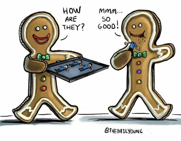 Today Is Gingerbread Decorating Day! #thedailydunc