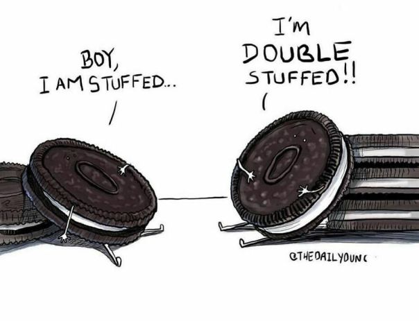 Today Is National @oreo Day!! Tell Me - Do You Prefer Regular Or Double Stuf? Or Another Kind Like Those Thin Ones? I've Never Tried Those! #thedailydunc