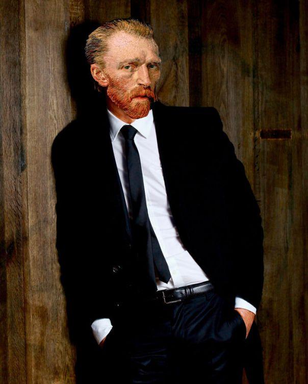 Mona Lisa, Frida Kahlo & Vincent Van Gogh : Nowadays, Outside The Frame