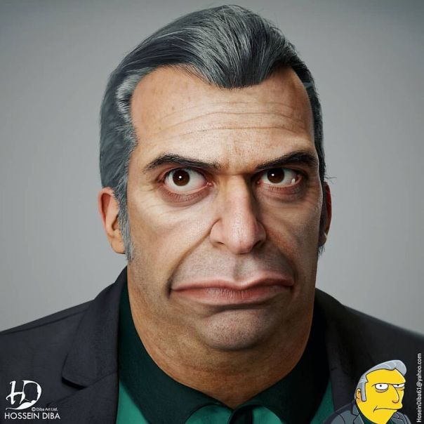 Tony From The Simpsons