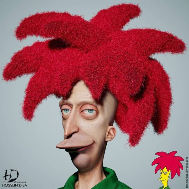 Sideshow Bob From The Simpsons