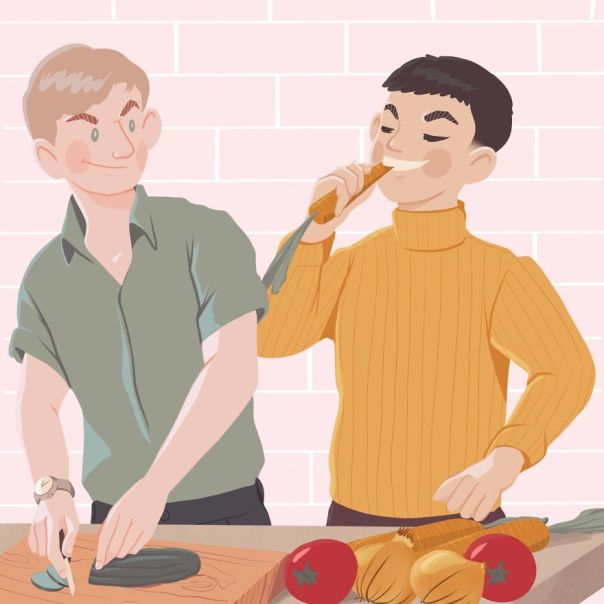Day 90: Cooking Together