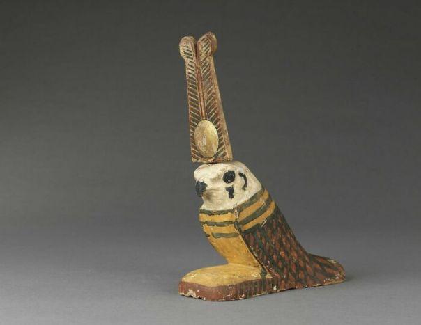 Akhem Bird Figurine; Statue Of Ptah-Sokar-Osiris; Statue, Basse Epoque (Attribution According To Style) (-664 - -332)
