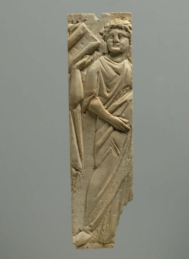 Wafer; Piece Of Furniture; Wall Mounted Cabinet; Tabletterie; Inlay, Roman Period; Byzantine Period (300 - 499)