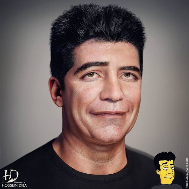 Simon Cowell From The Simpsons