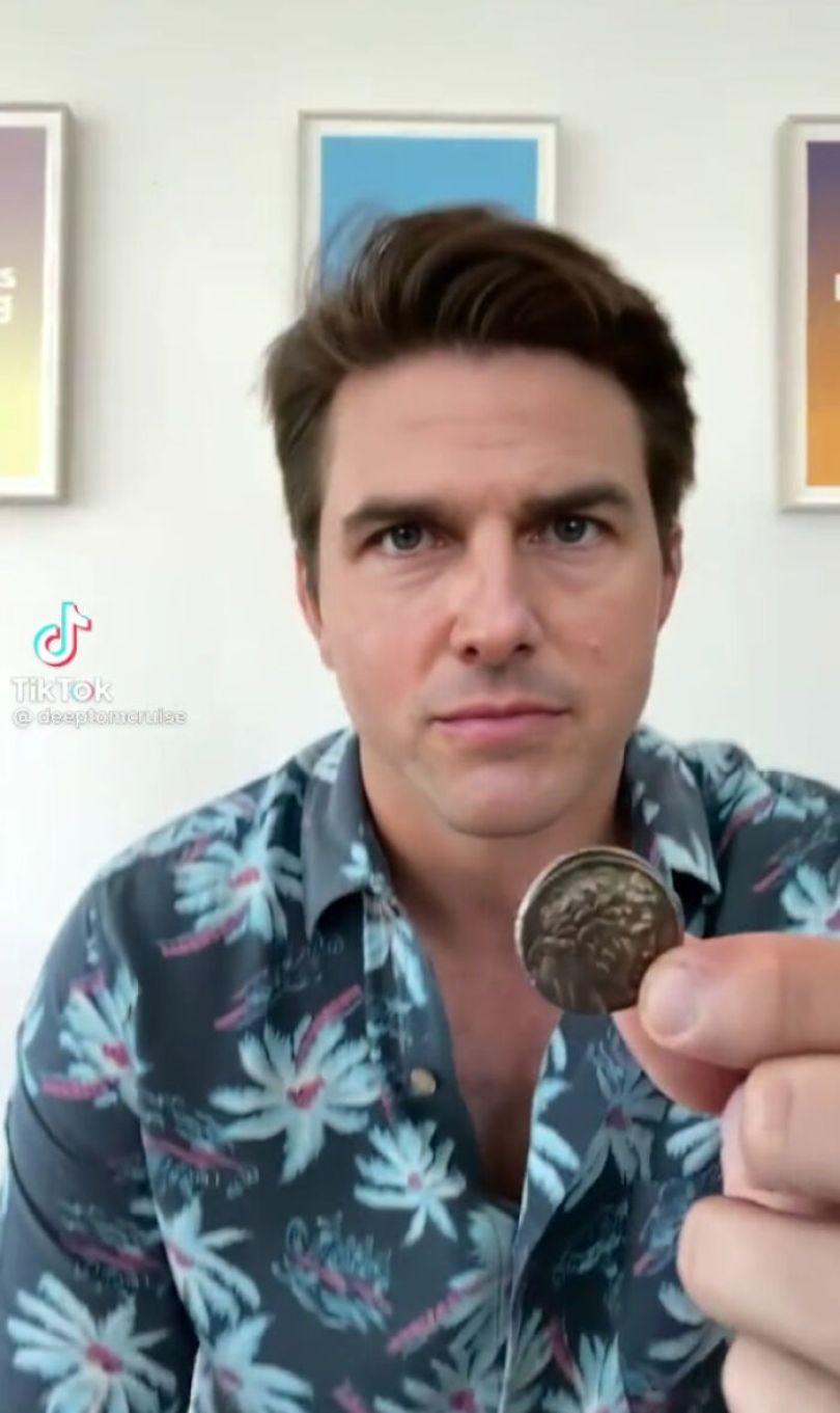 TikTok account shows fake Tom Cruise videos and its impossible not to say its real 603f5730aa897 png  700 - Deep Fake do Tom Cruise é a prova que no futuro você terá que provar que é você