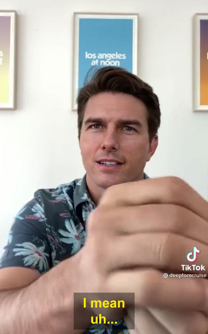 TikTok account shows fake Tom Cruise videos and its impossible not to say its real 603f573a8091f  700 - Deep Fake do Tom Cruise é a prova que no futuro você terá que provar que é você