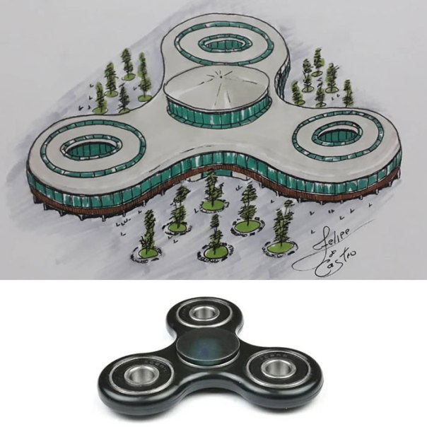 Architecture-Drawings-Everyday-Objects-Transformed-Into-Buildings-Felipe-De-Castro