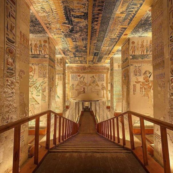The Tomb Of Ramesses Vi, The Valley Of Kings, Egypt