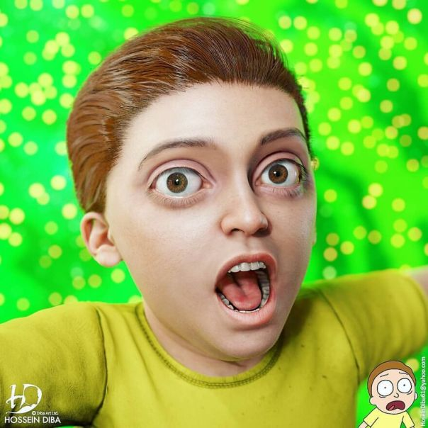 Morty Smith From Rick And Morty