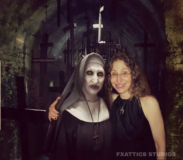 "Valak And Bonnie Aarons From ""The Nun"""